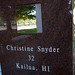 Christine Snyder