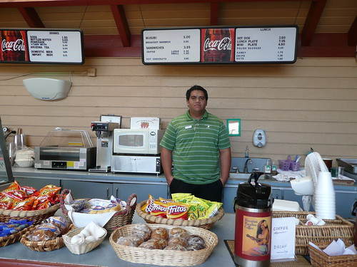 19th hole snack shop
