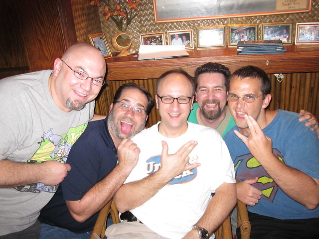 The Unique Geeks at Trader Vic's at Dragon*Con!