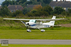 G-BSTM - 172-60143 - Private - Cessna 172L - Duxford - 100905 - Steven Gray - IMG_5851