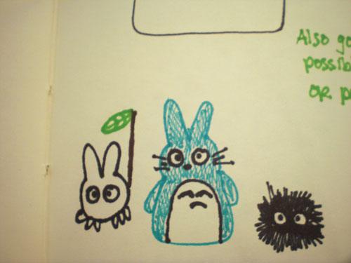 Totoro-doodleCloseup