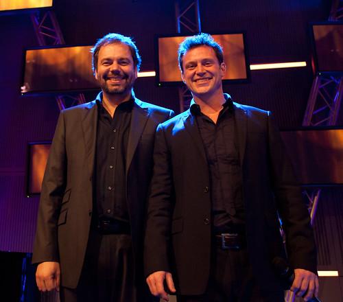 Gisle Børge Styve og Heine Totland - Copyright (c) Oddne Rasmussen