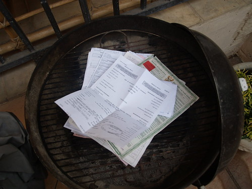 Documents ready to Burn