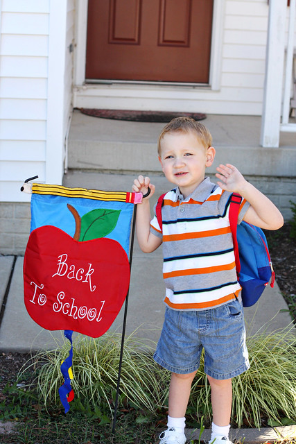 9/8/10 First Day of Preschool