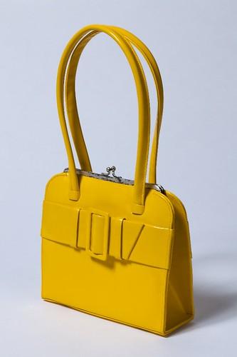 A bright yellow handbag, LC1996_48