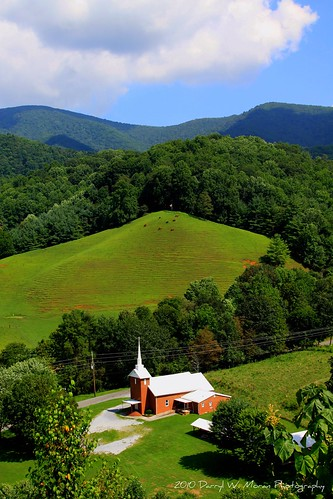 """Church In The Valley"" Tennessee Mountains"