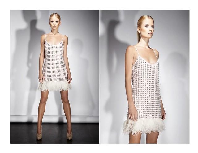BROSE SS11 PAM Stud Embellished Cami Dress