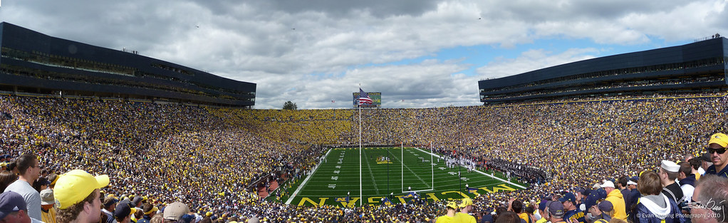 The Big House Panorama
