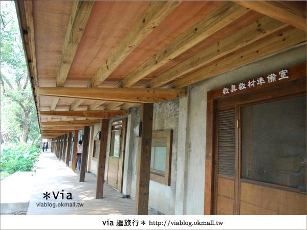 【彰化】彰化藝術高中~教室與森林結合的美麗校區14