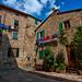 suvereto - street corner.........beautiful tuscany
