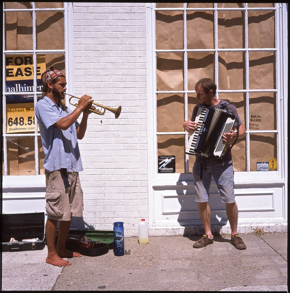 buskers in carytown