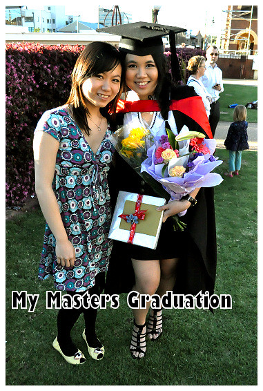 My Masters Graduation 2010: With Belinda