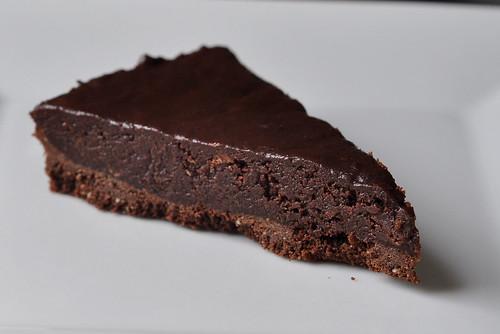 Chocolate Honey Almond Tart – The Way to His Heart