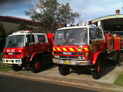 Old and Older (Rossco ( Image Focus Australia )) Tags: firestation nswfb newsouthwalesfirebrigades nswfirebrigades rossbeckley