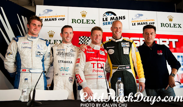 LE MANS SERIES // McNISH ON POLE @ SILVERSTONE