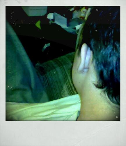 chris's ear