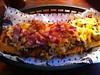Bacon chilli cheese dog