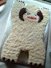Empire Strikes Back Birthday: Episode I -- Wampa Cake