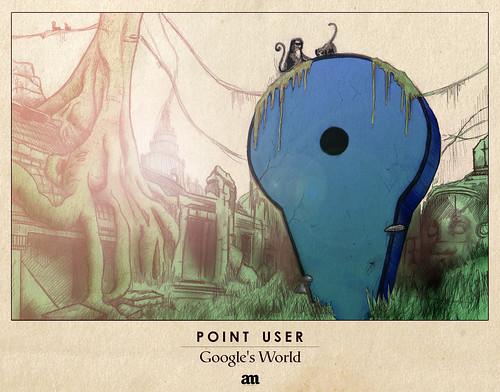 "Point User ""Google's World"" by Alejo Malia"