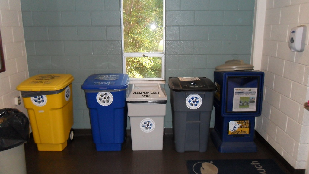 Recycling Containers (Hollis Building)