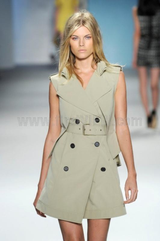 Derek Lam trench coat vest SS2010 2