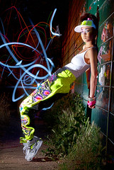 Liberating Style Shoot 5 (Danny Fontaine) Tags: longexposure nightphotography light strange fashion lights weird model editorial hotgirl dannyfontaine the5683 carlyellis saretagabriel mattcrump