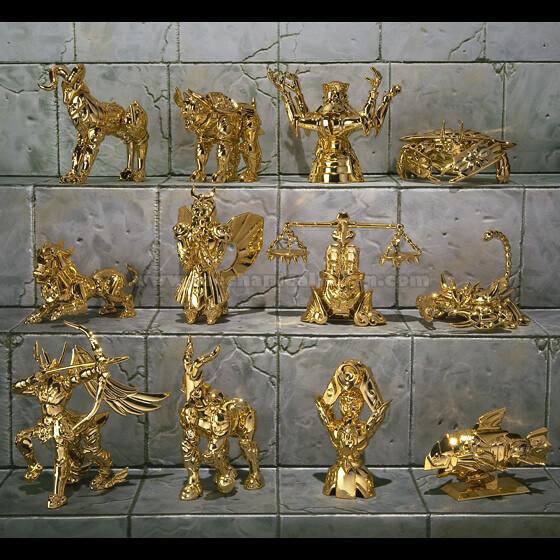 Saint Seiya - Gold Armours Special Appendix (Bandai)