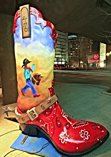 Bootscootin' in style