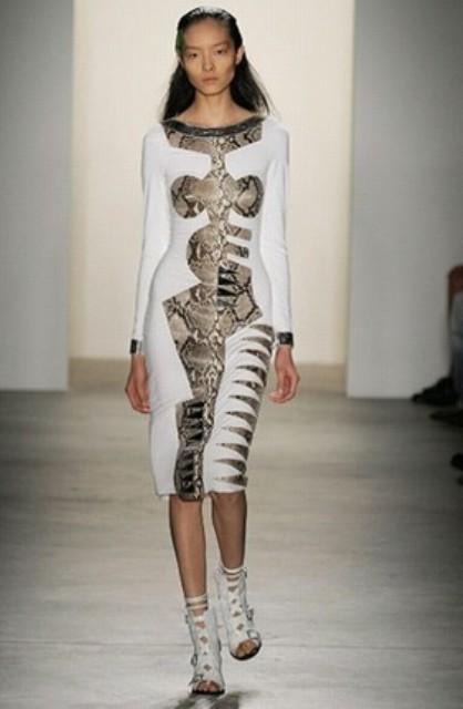 NYC Fashion Week 2010 inspiration Altuzarra geometric applique