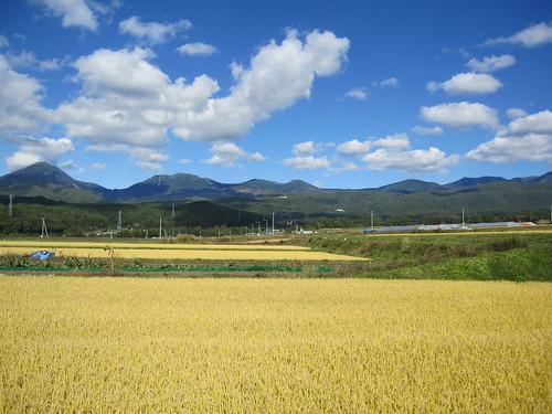 里から見た秋の八ヶ岳連峰 2009年10月11日 by Poran111