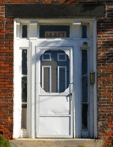Doorway, Leonard Parks residence