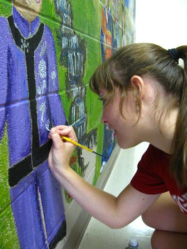 Mural at SAC