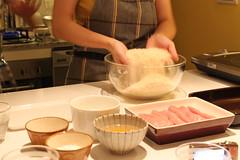 混合自製麵包粉