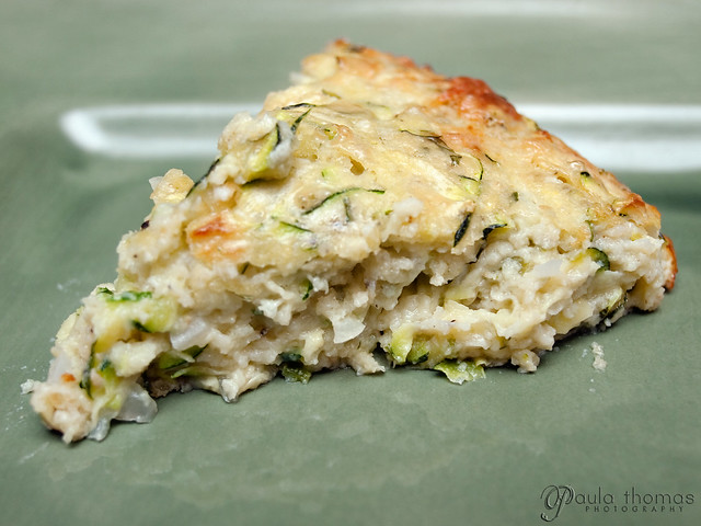 Slice of Zucchini Pie