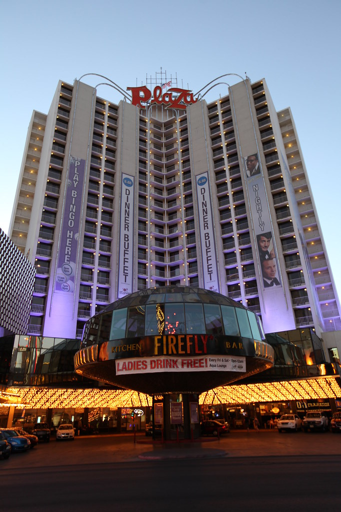 The Plaza Hotel and Casino in Downtown Las Vegas