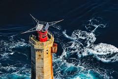 Le Phare du Nividic (detail) (Brestitude) Tags: sea mer lighthouse france island brittany bretagne breizh 29 phare finistère robinsonr22 île ouessant courants ushant nividic merdiroise d700 curents brestitude pilotjeangabriel