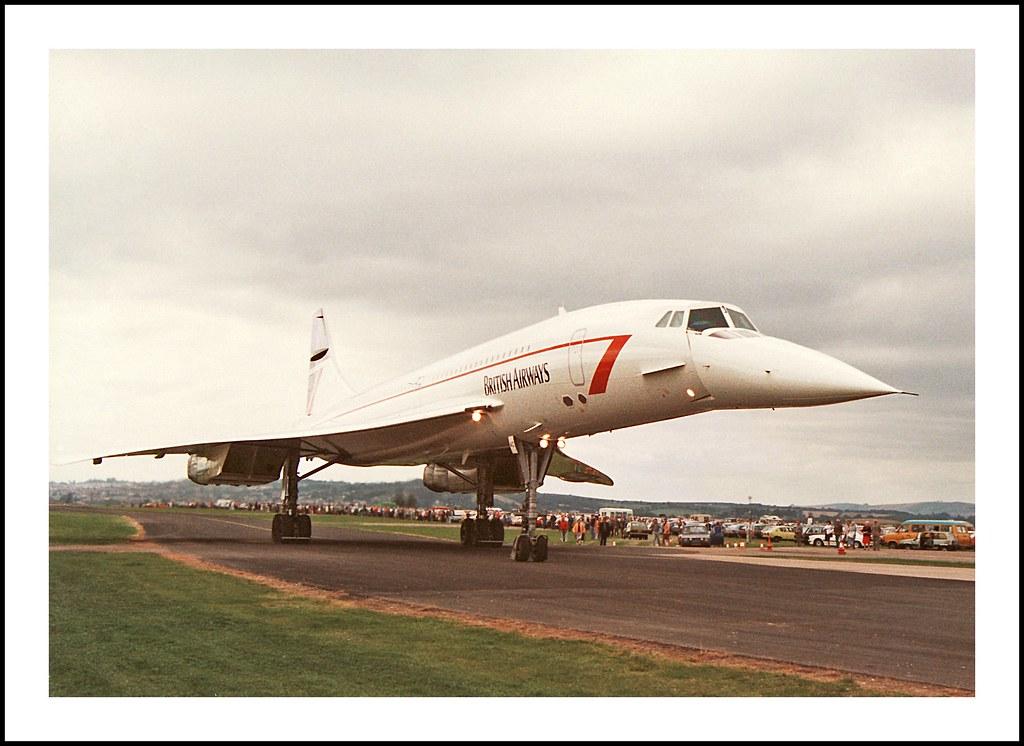 Concorde Close Encounter