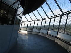 Niagara Falls, Canada   9/10/10 - 9/13/10 (railynnelson) Tags: ontario canada tower observation niagarafalls landmark futuristic skylontower 60sarchitecture revolvingrestaurant spaceera