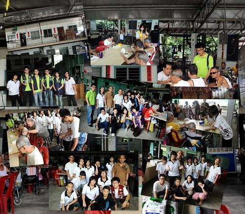 Service at Rumah Charis Relau1