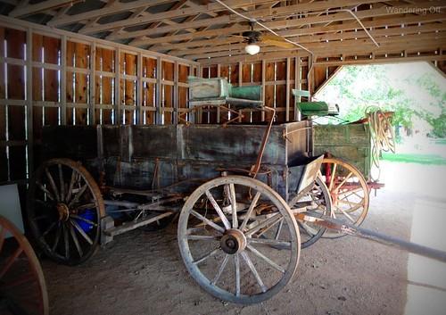 Wagons, Pioneer Museum