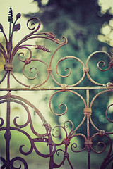 Fence Friday - Curly Wurly Edition ([Angela]) Tags: metal wroughtiron rusty vicenza fencefriday