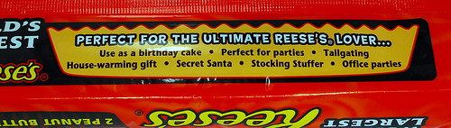 World's Largest Reese's Peanut Butter Cup Gift Ideas