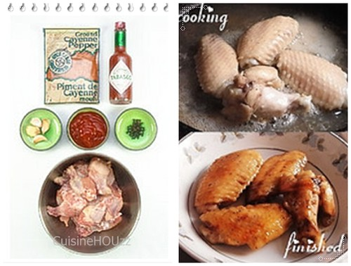Chicken Wings Visual Recipe