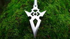 Titanium Diamond Arrowhead (TitaniumSoul) Tags: handmade craftsman arrowhead broadhead dlux4 titaniumsoul