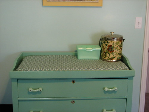 nursery - changing table