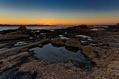 Plage de Stavros (Myad) Tags: mer soleil europe coucher crete stavros plage rocher grece flickrunitedaward