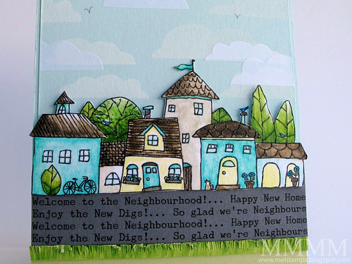 CLOSE Squigglefly digital houses image Whimsy Town by mel stampz