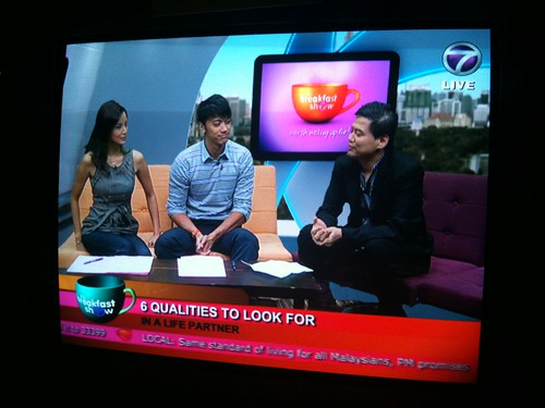 170910 - The Breakfast Show @ NTV7 (Qualities to look for in a Life Partner)