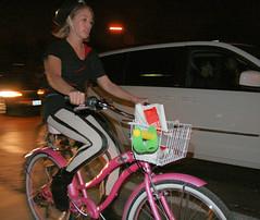 Cool tights (Richard Masoner / Cyclelicious) Tags: bike bicycle cycling costume ride sanjose september pirate theme cupertino 2010 bikeparty stevenscreekboulevard wolferoad sjbp