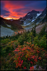 Cascade Pass (Sean Bagshaw) Tags: mountains color fall sunrise washington nationalpark northcascades cascadepass thepowerofnow
